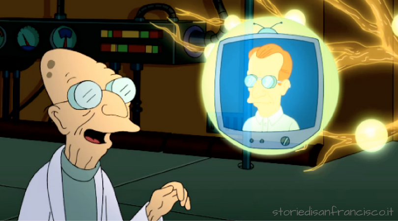 dottor farnsworth san francisco futurama
