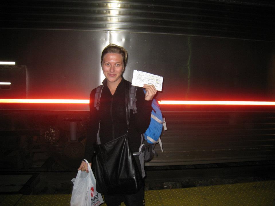 Amtrak trip