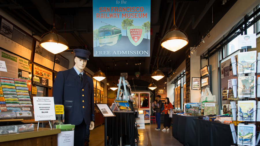 railway museum storie di san francisco