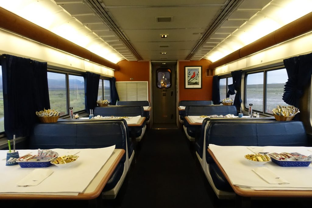 Amtrak restaurant