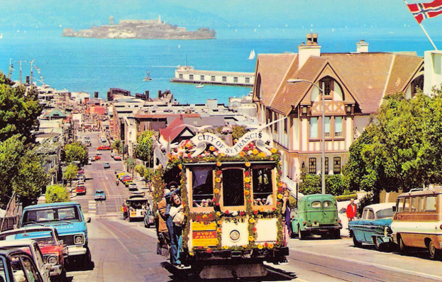 storie di san francisco cable car