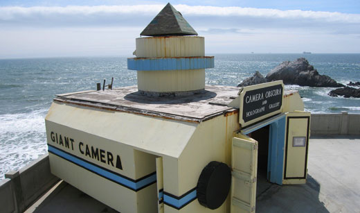 La Camera Obscura sotto alla Cliff House