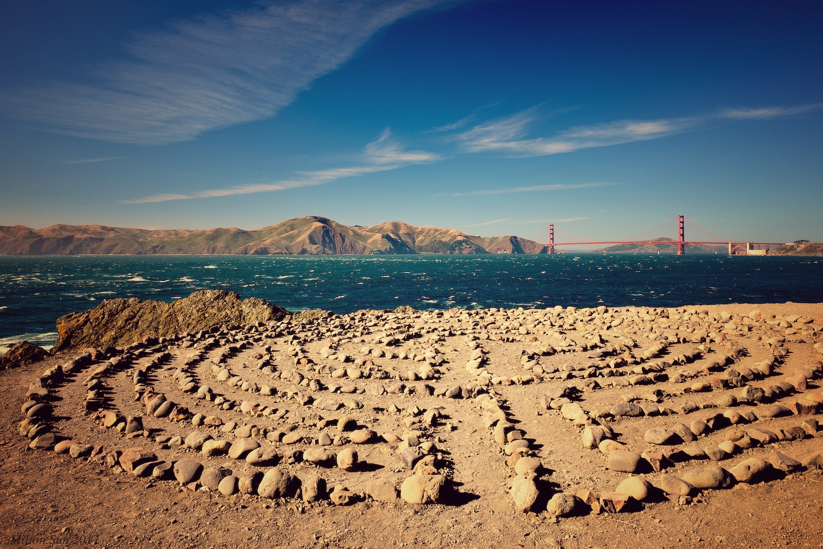 storie san francisco lands end labyrinth