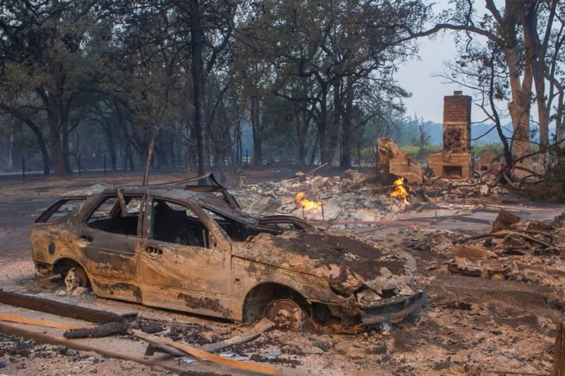incendi sonoma valley