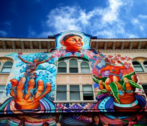 Mission Women's Building murales