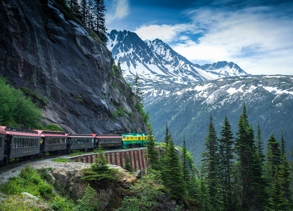 Il White pass and Yukon train