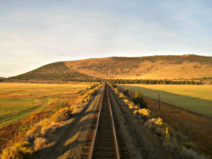 California Oregon train