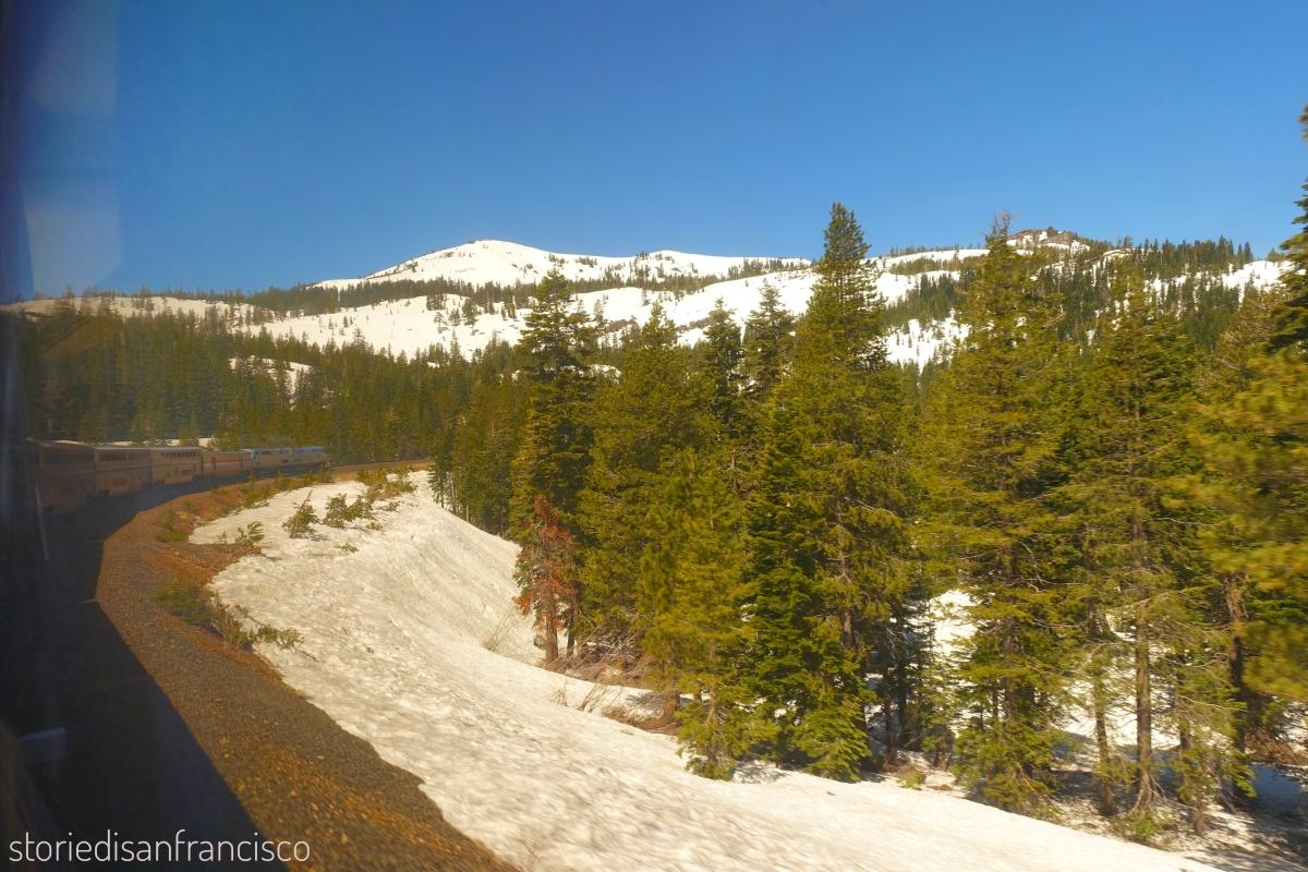 california sierra snow train