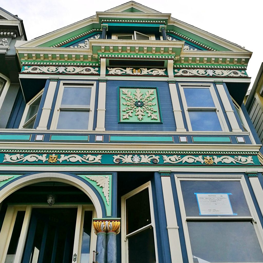 four seasons victorian san francisco house winter inverno quattro stagioni casa vittoriana