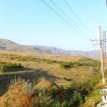 Panorama dal treno Yerevan-Tbilisi