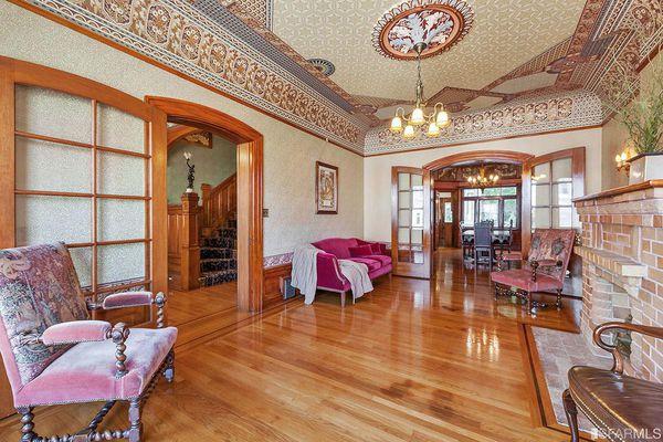 Gli interni di una casa vittoriana di san francisco for Interni abitazioni